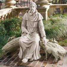 In Nature's Sanctuary St. Francis Garden Statue