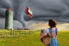 Dorothy and the Tornado by Adam Baron, via 500px