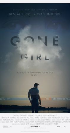 Gone Girl-Directed by David Fincher. With Ben Affleck, Rosamund Pike, Neil Patrick Harris, Tyler Perry. David Fincher, Rosamund Pike, Ben Affleck, Beau Film, Neil Patrick Harris, Gone Girl, See Movie, Movie Tv, Image Cinema
