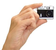 Eraser-Sized Retro Camera Perfect for the Discreet Photographer or Hipster Smurf