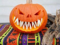 Pumpkin Teeth 3 Pack Halloween Special. (36pcs)Teeth in Total.