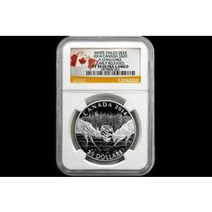 Shop 2014 $20 Canada 1oz Silver White-Tailed Deer A Challenge ER PF70UC/NGC and other jewelry, art, coins, rugs and real estate at www.aantv.com