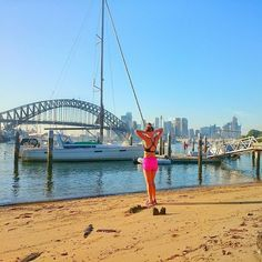 quick stroll around the harbour before going to work today  @kayla_itsines #kaylaitsnes #kaylasarmy  #thekaylamovement #bikinibodyguide #liss #running #bbg #deathbykayla #gym #fit #fitness #fitnessgirls #fitfam #fitspo #workout #exercise #hardwork #healthy #health #nike #nikewomen #training #strong #pink #progress #kibbggroup #sydneybbg #bbgsydney #sydneyharbourbridge #thekaylamovement2016 by nicki_fityogi http://ift.tt/1NRMbNv