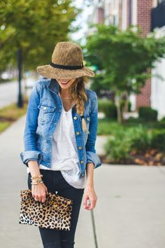 If you are following along with NYFW right now, chances are you have come across a denim outfit...