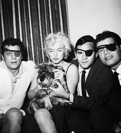 Marilyn and furry friend