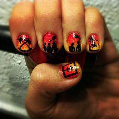 Emblem 3 Nails!!!! :)