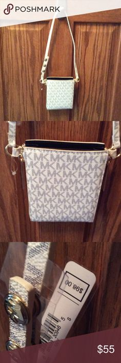 Michael Kors Wristlets NWT Michael Kors Wristlet. I bought this new, but it is too small for my iPhone 6 Plus, which is why I have to sell, but it is so pretty that I am crushed about it.  MICHAEL Michael Kors Bags Clutches & Wristlets