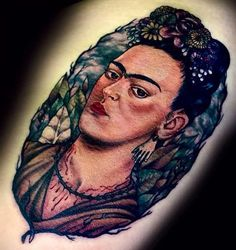 traditional frida kahlo tattoo - Google Search