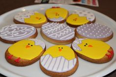 Egg and Chick Cookies