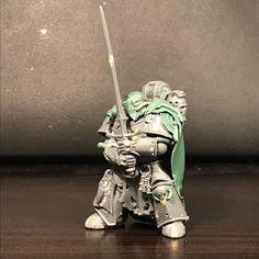 Dark Angels 40k, Fallen Angels, Warhammer Models, Warhammer 40000, Legion Characters, Elf Warrior, Green Knight, Imperial Fist, Warhammer 40k Miniatures