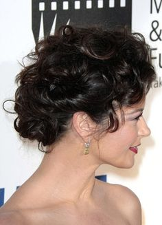 curly updos pictures photos