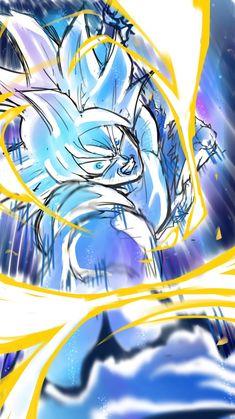 Goku UI Mastered by: migimimi Dragon Ball Z, Dragon Ball Image, Thicc Anime, Anime Art, Ball Drawing, Fantasy Art Men, Dragon Images, Drawing Skills, Manga Girl