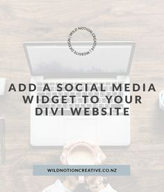 Add a social media widget to your Divi Website (the easy way! Social Media Icons, Web Design, Coding, Ads, Writing, Website, Creative, Design Web, Being A Writer