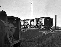 De Aar Northern Cape South Africa 31st May 1982 (loose_grip_99) Tags: africa railroad heritage train southafrica blackwhite noiretblanc transport engine rail railway trains steam locomotive 480 railways 724 7a 484 1007 northerncape 3491 3509 25nc deaar southafricanrailways gassteam 7thclass excapeeasternsystem