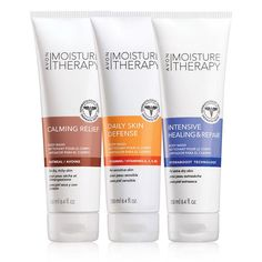 Valued in $24.00, this trio includes: Moisture Therapy Daily Skin Defense Body WashThe Moisture Therapy Daily Skin Defense Body Wash is formulated with vitamin-infused beads to nourish and moisturize dry skin. It is formulated with Vitamins A, C & E, Pro-Vitamin B-5 and antioxidants for daily skin health. 8.4 fl. oz. BENEFITS • Vitamin infused to nourish skin• Moisturizes dry skin• Leaves skin looking and feeling healthy• Hypoallergenic • Dermatologist testedTO USE &