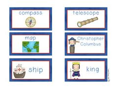 Christopher Columbus vocabulary words