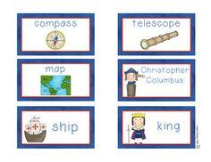 Christopher Columbus vocabulary words