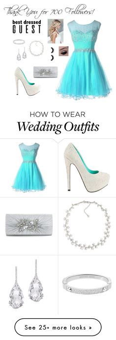 """""""Thank You for 700 Followers!"""" by designer01kitty on Polyvore featuring Plukka, Carolee, Michael Kors, TaylorSays, thankyou, youguysrock and the700"""