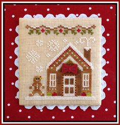 click here to view larger image of Gingerbread House 3 - Gingerbread Village 5 (chart