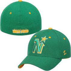 Minnesota North Stars Zephyr Breakaway Flex Hat – Green - $24.99