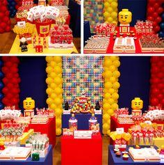 Baby Guide Festa Infantil: Decoração Lego para Meninos