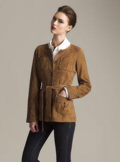 Belted Suede Jacket~~