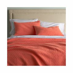 Dottie Coral Bed Linens