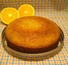 Bizcocho de naranja vegano / Postres / Tartas & Pasteles / HazteVeg.com