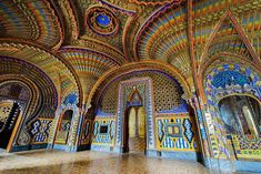 The Peacock Room in Sammezzano Castle, Tuscany, Italy (Photograph by Sam Woolfe) - 9GAG