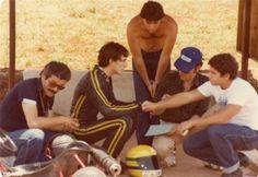 Ayrton Senna, Kart years