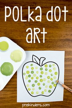 Polka Dot Art for Pre-K
