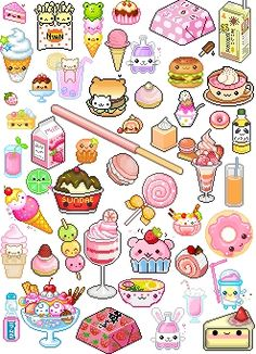 "cute food printable stickers journalingsage intended for cut"" — card Kawaii Doodles, Kawaii Chibi, Kawaii Art, Kawaii Stickers, Cute Stickers, Kawaii Drawings, Cute Drawings, Kawaii Background, All Things Cute"