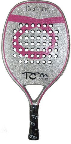 Racchetta Beach Tennis Tom Caruso DIAMANT PINK 2014