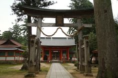 出石神社鳥居. Izushi Shrine torii.