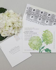 Two lush blooms create a burst of color in this modern design.  Cheree Berry Papers