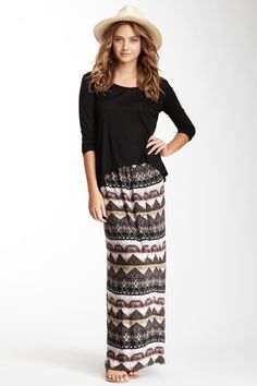 Pleat Maxi Skirt - loveappella