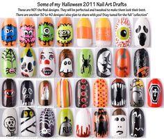 Nail ideas for halloween