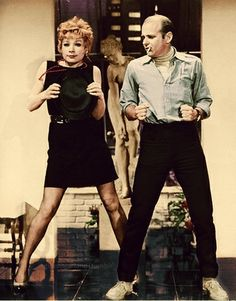 Gwen Verdon and Bob Fosse Bob Fosse, Dance Movies, Sweet Charity, Shirley Maclaine, Dance Routines, Just Dance, On Set, Actors & Actresses, Musicals