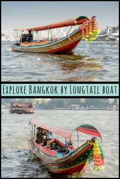 Explore Bangkok by long tail boat and discover a charming floating market, sampans laden with take-out, and catfish that will vie for your lunch.