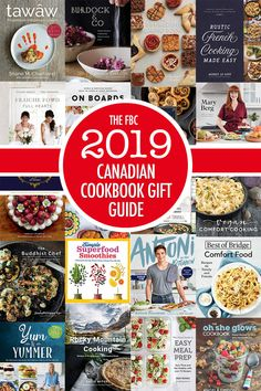 Canadian Cookbook Holiday Gift Guide The FBC 2019 Canadian Cookbook Gift Guide French Appetizers, Top Cookbooks, Canadian Food, Vegan Comfort Food, Best Vegan Recipes, Edible Gifts, Easy Meal Prep, Holiday Gift Guide, Superfood