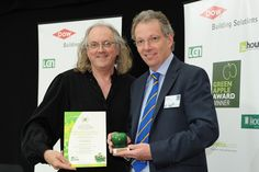 Essex Auto Group picking up the 2012 Green Apple Environment Car Dealer Award. New And Used Cars, Automotive Industry, Environment, England, Apple, Group, Apple Fruit, English, British
