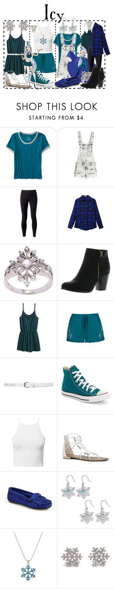 """""""Icy (Winx Club)"""" by fabfandoms ❤ liked on Polyvore featuring Aéropostale, H&M, Jockey, La Preciosa, Reneeze, Ally Fashion, M&Co, Converse, NLY Trend and ALDO"""