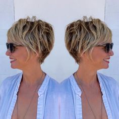 messy short hairstyles Over 50 - www. - Hair Styles For Women Edgy Short Hair, Edgy Hair, Short Hair With Layers, Short Hair Cuts For Women, Haircut For Older Women, Short Hairstyles For Women, Trendy Hairstyles, Protective Hairstyles, Hairstyles Pictures