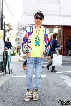 more photos 11e2f 5ee76 Street Style Tokio Japanese Streets, Japanese Street Fashion, Tokyo  Fashion, Jeremy Scott,