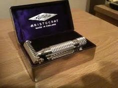Gillette Aristocrat. Quality, style, craftsmanship. These are still around and still work incredibly well. So why on earth are you paying for cartrige razors?