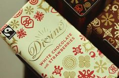 Divine white chocolate bar from Divine Chocolate USA is included in this rundown of ethical chocolate companies.
