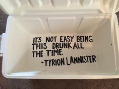 game of thrones cooler quote