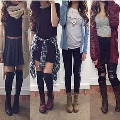 Back to school outfits, outfits for teens, casual outfits, fashion outfits, Cute Outfits With Jeans, Cute Outfits For School, Outfits For Teens, Pretty Outfits, Cute Fashion, Look Fashion, Teen Fashion, Autumn Fashion, Fashion Outfits
