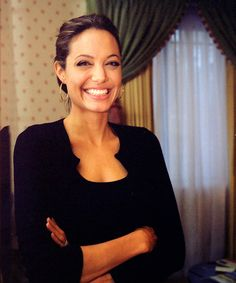 angelina jolie. even though i dont like her that much, she isnt too bad. I mean, look at all the kids she is helping! HELLO!