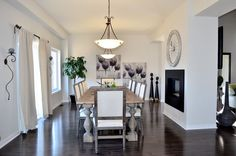 Dining Room My House, Dining Room, Table, Furniture, Home Decor, Dinner Room, Homemade Home Decor, Mesas, Home Furnishings